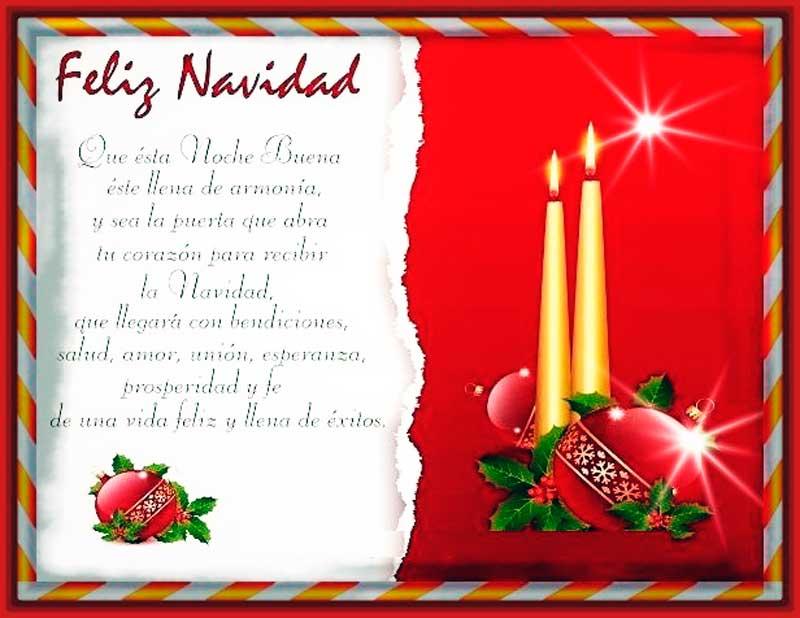 felicitaciones de navidad para mis amigos