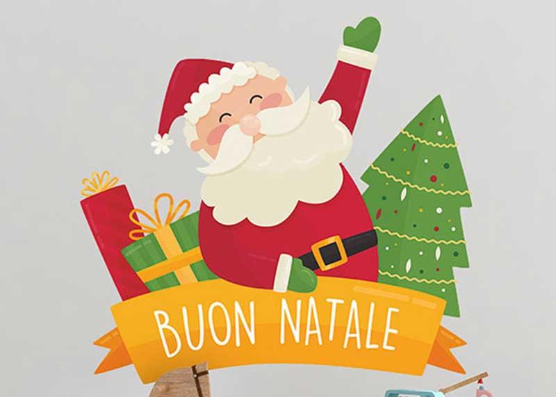 feliz navidad en italiano frases