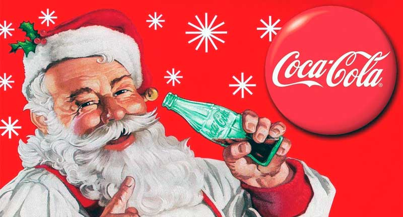 hablar con papa noel coca cola