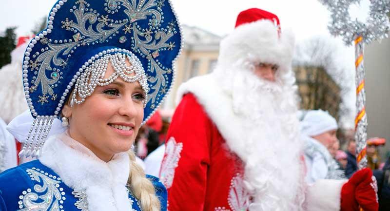 rusia en navidad